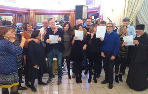 Grande festa a Brindisi per i 18 anni della Comunità Ellenica del Grande Salento