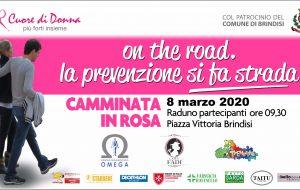 """Torna """"On the road, la prevenzione si fa strada"""", camminata solidale organizzata da """"Cuore di donna"""""""
