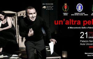 "Violenza sulle Donne: venerdì 21 ""Un'altra Pelle"" a Palazzo Nervegna"