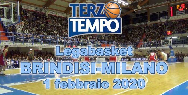 Terzo tempo web: il video di Brindisi-Milano