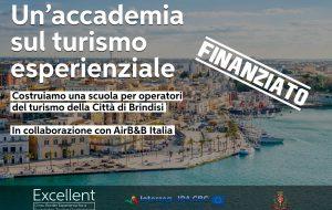 Il Comune di Brindisi ottiene un finanziamento per realizzare l'Accademia del turismo esperenziale