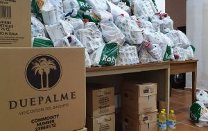 """Coronavirus, """"Restiamo Umani"""": a Cellino supermarket devolve alimenti alle famiglie che hanno bisogno di aiuto"""