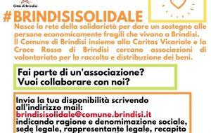 """Nasce """"Brindisi Solidale"""" per aiutare le famiglie in difficoltà: ecco come partecipare"""
