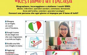 Il Consiglio Comunale dei Ragazzi di Brindisi lancia la campagna di sensibilizzazione social #restiamotuttiacasa