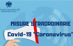 Coronavirus: personale della ConfCommercio di Brindisi a disposizione per un'azione di supporto ai propri associati