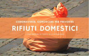 Coronavirus: le nuove modalità di ritiro rifiuti nella città di Brindisi