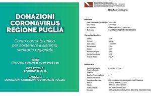 Coronavirus: il PD di Brindisi partecipa alla raccolta fondi promossa dalla Regione Puglia per sostenere il servizio sanitario