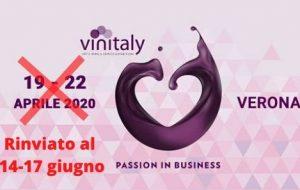 """Cinque Consorzi vini dop pugliesi: """"non ci sono le condizioni necessarie per il Vinitaly 2020"""""""