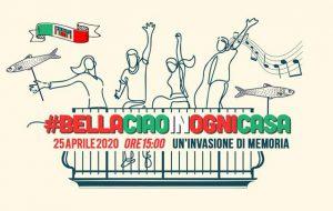 """25 Aprile: l'Associazione Di Vittorio di Mesagne aderisce al flash mob """"#bellaciaoinognicasa"""""""