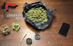 Beccato con oltre 100 grammi di marijuana: 21enne in galera