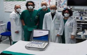 Donato un ecografo polmonare al reparto di pneumologia dell' Ospedale di Ostuni