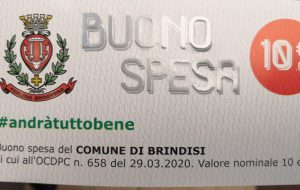 Comune di Brindisi: consegnati buoni spesa a 2.850 famiglie