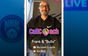 Call Coach: parte la rubrica di Frank Vitucci live su Instagram. Bulleri primo ospite