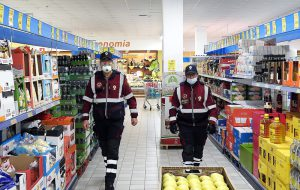 Coronavirus: ad Oria intervengono i Volontari della Associazione Polizia di Stato di Brindisi