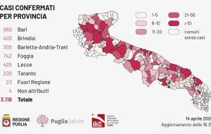 Coronavirus, aumenta la criticità in Provincia di Brindisi: superata quota 400 positivi