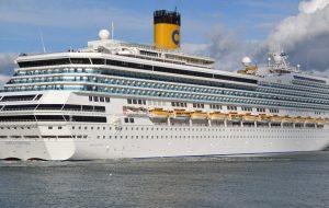 """Approdi Sicuri, giunta in porto la Costa Fortuna: """"Un'occasione di sviluppo per Brindisi"""""""