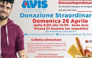 #escosoloperdonare: Avis organizza tre raccolte straordinarie per fronteggiare la carenza di sangue