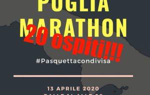 """Pasquetta in diretta Facebook con """"Puglia Marathon"""", tutti per uno, una live per tutti"""