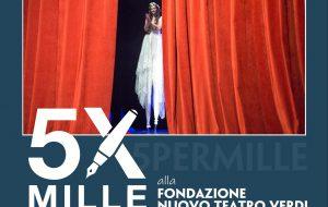 Il Teatro ha un cuore che batte! Campagna 5×1000 del Nuovo Teatro Verdi di Brindisi