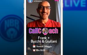 Call Coach: il live di Frank Vitucci con Piero Bucchi e Alessandro Giuliani