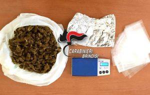 Beccato con 135 grammi di marijuana: arrestato