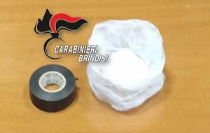 In casa 26 grammi di cocaina: dagli arresti domiciliari al carcere