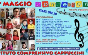 Dalle 20.00 in diretta Facebook il concertone del 1 Maggio dei ragazzi dell'I.C. Cappuccini di Brindisi