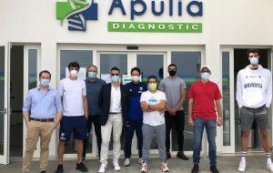 Test sierologici per giocatori e staff della Happy Casa presso il Top Sponsor Apulia Diagnostic
