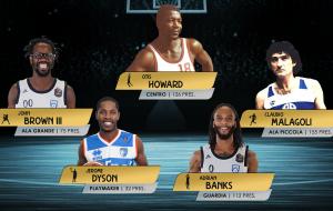 Brindisi Basketball All Time: ecco i migliori quintetti della storia votati dai tifosi