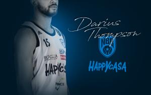 Darius Thompson resta alla Happy Casa Brindisi