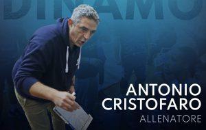 Antonio Cristofaro sarà l'allenatore della Dinamo Basket Brindisi per il terzo anno consecutivo