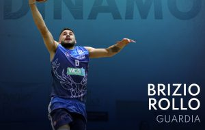 Brizio Rollo è la prima conferma della Dinamo Basket Brindisi