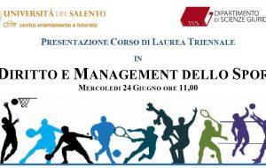Happy Casa & Unisalento presentano un nuovo Corso di Laurea in Diritto e Management dello Sport