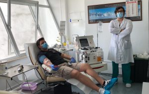 Al Perrino di Brindisi altre due donazioni di plasma iperimmune