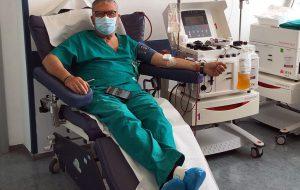 Al Perrino di Brindisi continua la donazione di plasma iperimmune