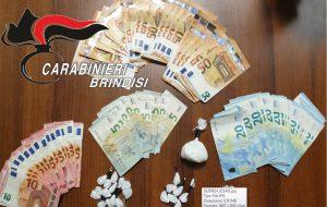 Beccato con 44 grammi di coca e 1.795,00 euro in contante: 39enne in carcere
