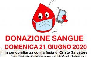 #iostoattentomadono, la Fratres San Lorenzo promuove Domenica 21 una raccolta di sangue al quartiere Sant'Elia