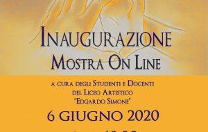 """Arte in Diretta: arriva la Mostra On Line del Liceo Artistico """"Simone"""""""