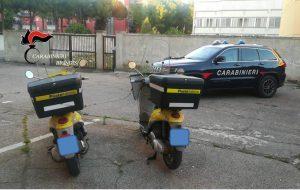 """Ritrovate le due moto di """"Poste Italiane"""" rubate a Brindisi"""