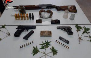 Armi, droga e furti: due arresti e tre denunce a San Pietro