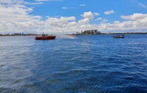 Aereo cade nelle acque del Porto di Brindisi: per fortuna è solo un esercitazione andata a buon fine!