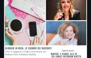 Blogger in rosa, riapertura discoteche e nuova vita per il wedding i prossimi argomenti di Vieni a viaggiare in Puglia