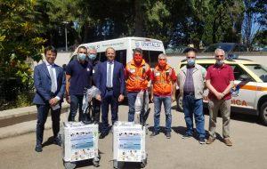 Cittadini di San Vito dei Normanni donano sanificatori al Servizio 118 e all'ospedale di Ostuni