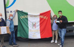 Il Circolo Culturale Pugliese di Wolfsbrg dona mille mascherine a San Vito dei Normanni