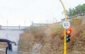 Modificati i tempi del semaforo alla Sciaia