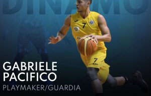 """Un colpo da """"Gold"""" per la Dinamo Basket Brindisi: ecco Gabriele Pacifico"""