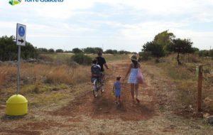 In spiaggia con la bici: al via il percorso ciclopedonale della Riserva