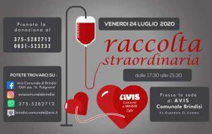 Avis: venerdì 24 donazione di sangue presso l'ex ospedale Di Summa