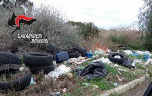 Rifiuto selvaggio: i Carabinieri scoprono 19 discariche abusive in un mese