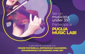 SPARC, Puglia Musica Lab: avviso per la partecipazione al workshop in collaborazione con Puglia Sounds. 20 posti disponibili